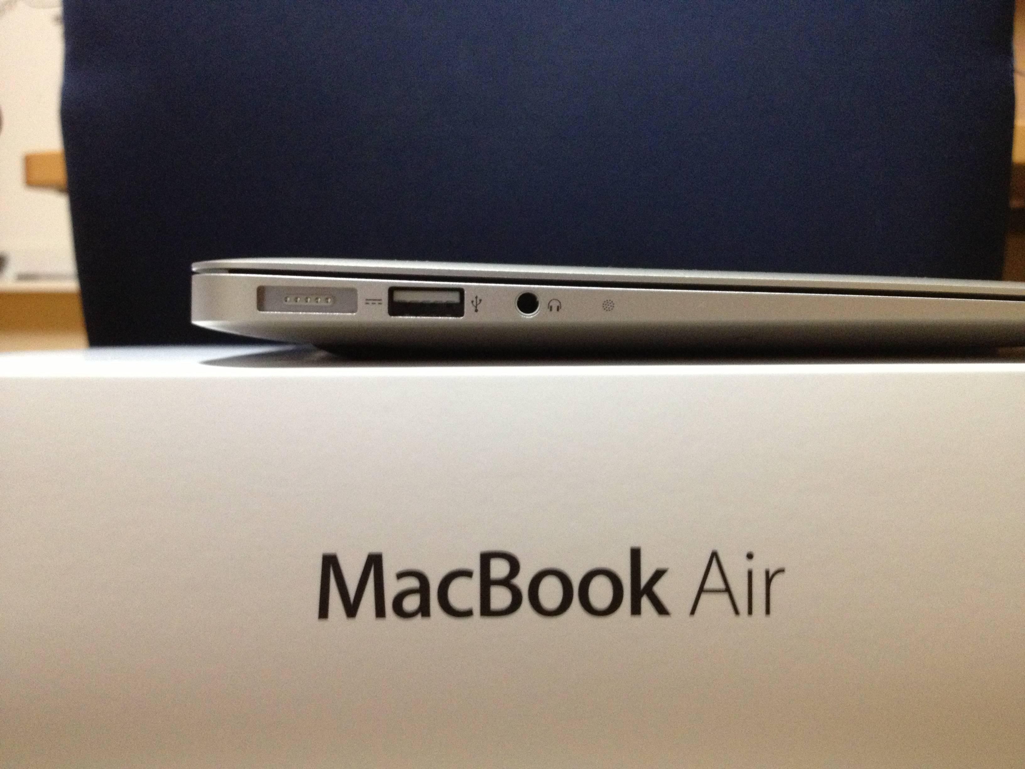 MacBook Air with MagSafe 2