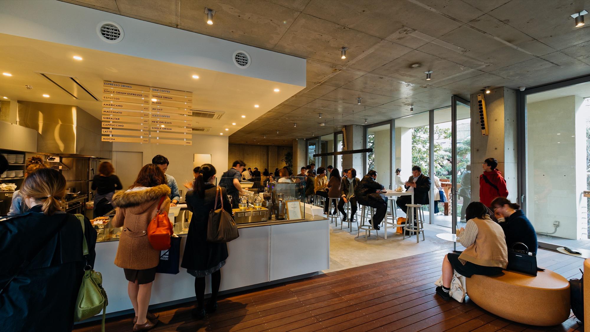 블루보틀 커피 도쿄 아오야마