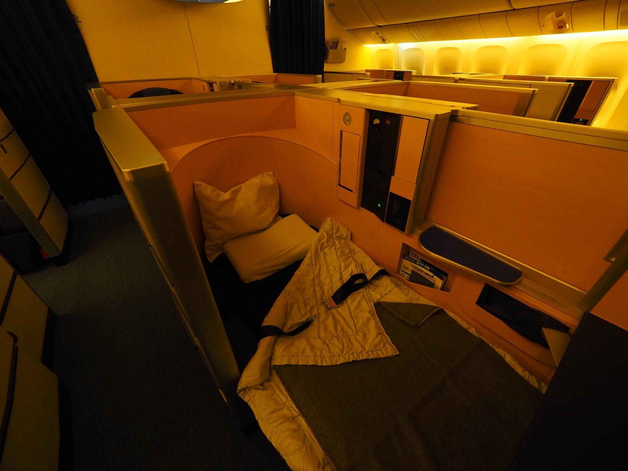 풀 플랫 침대